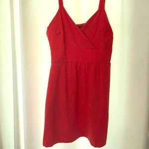 Red Cynthia Rowley dress